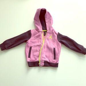 Air Jordan zipper hoodie